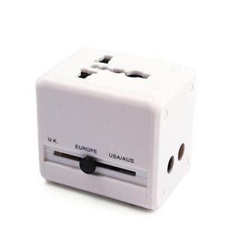 Picture of UNIVERSAL TRAVEL ADAPTOR with Flat Finish