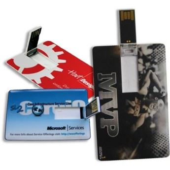 Picture of FLIP CARD USB MEMORY STICK in White