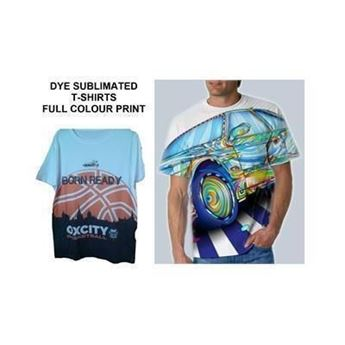 Picture of DYE SUBLIMATED WHITE TEE SHIRT