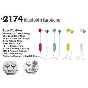 Picture of BLUETOOTH MUSHROOM EARPHONES