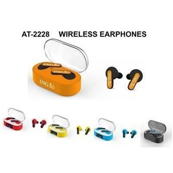 Picture of 2228 TRULY CORDLESS STEREO EARPHONES with Charger Box